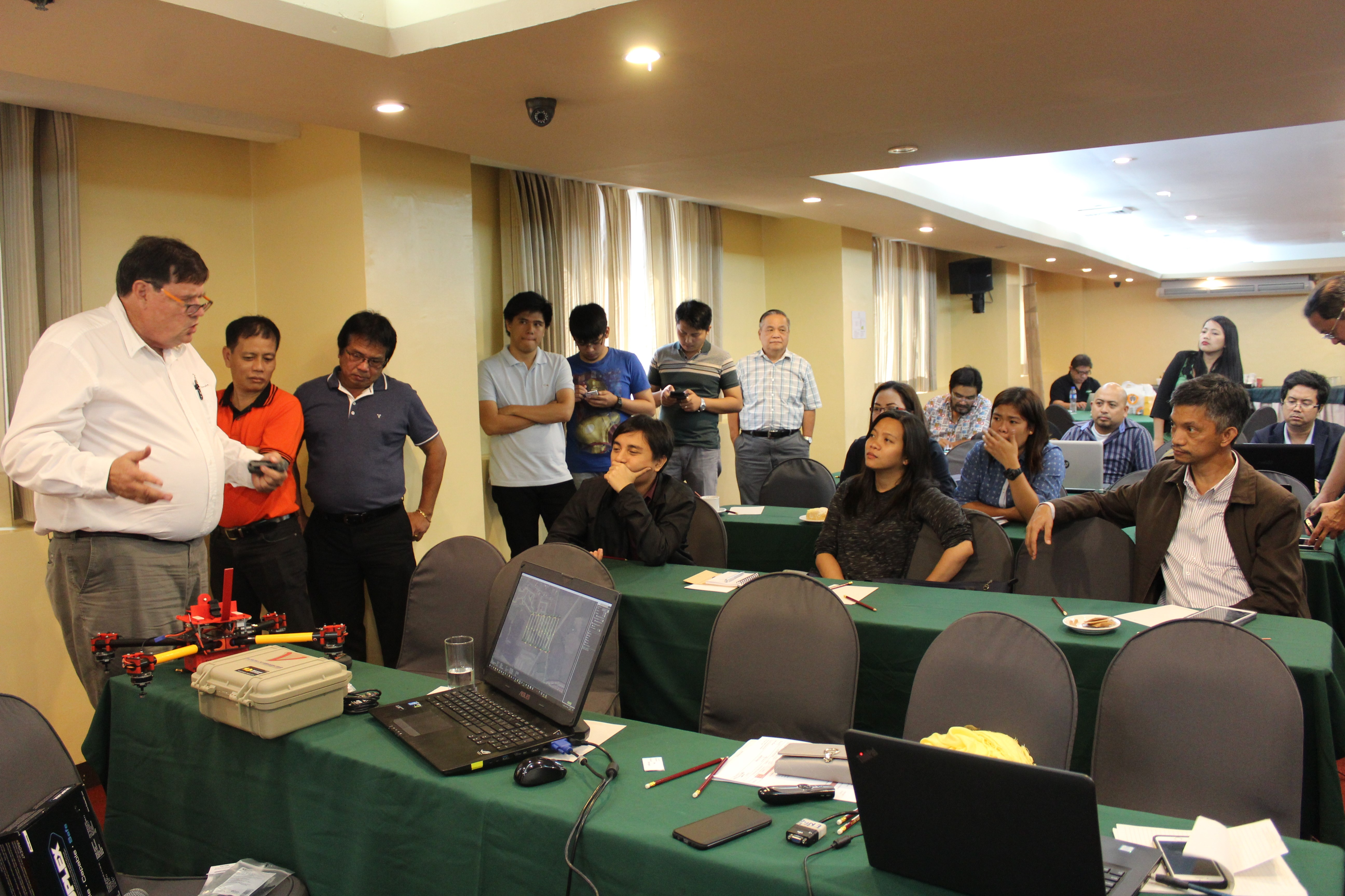 Philippine Land Sector Meets Drone Technology | Foundation